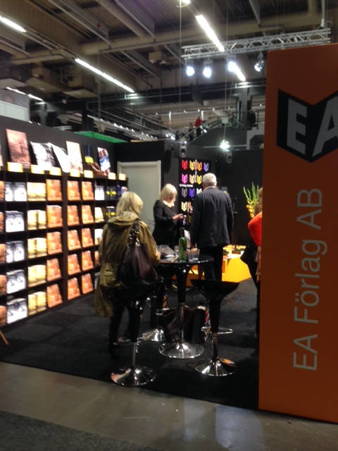 image showing Visitors on the EA stand