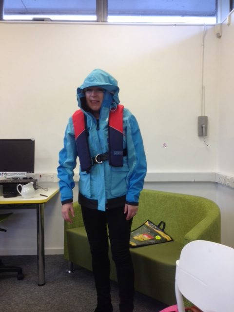 image showing Chris in sailing gear