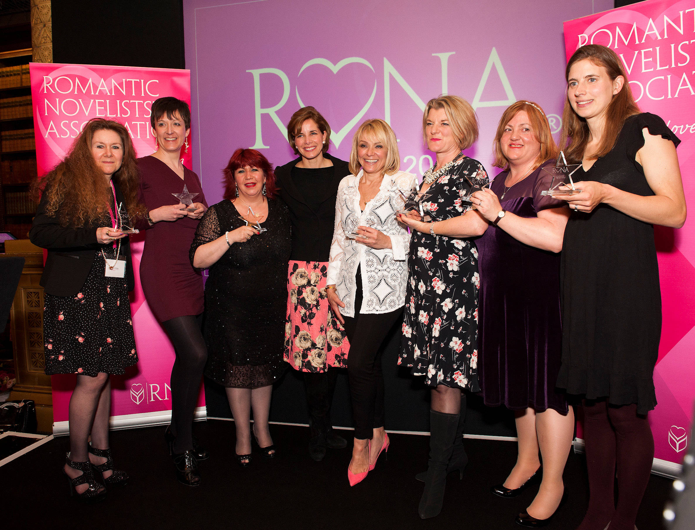 image showing Group photo of all 2014 RoNA winners with Darcy Bussell