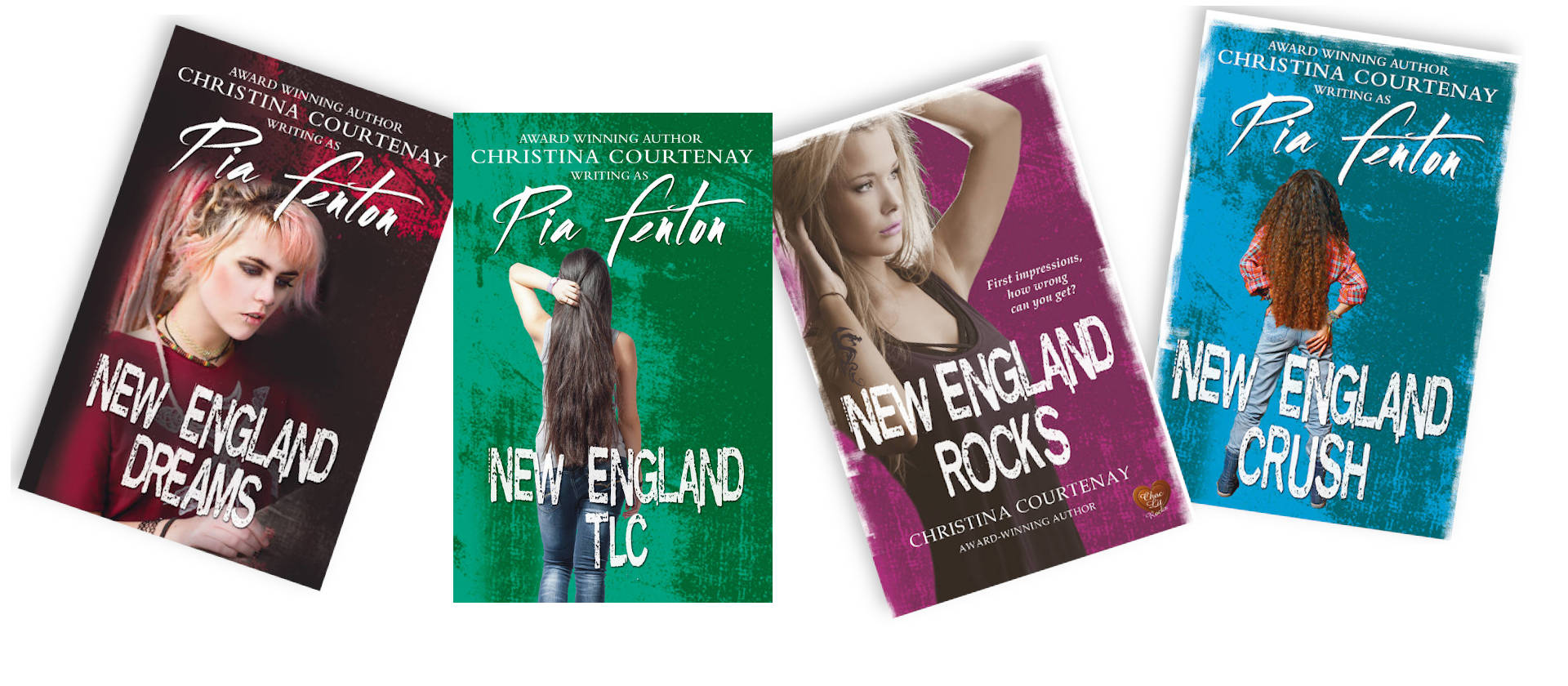 Young Adult Novels: Christina writes young adult fiction because she enjoys doing so.  Find out more about her YA romantic fiction here.
