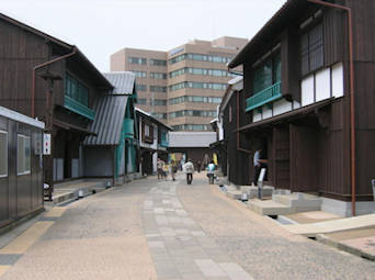 image showing Dejima Main Street, Looking towards Nagasaki