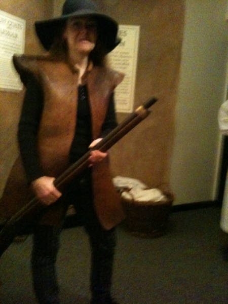 image showing The Nice People in Plymouth Gave Me a Musket to Hold