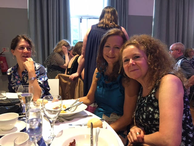 image showing At the gala dinner with Henriette
