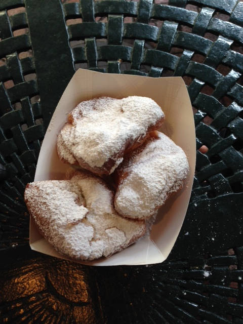 image showing Beignets