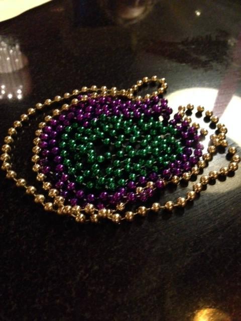 image showing Mardi Gras Beads