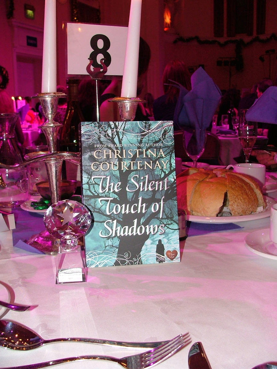 image showing The Silent Touch of Shadows Awarded Best Historical Read at Festival of Romance 2012