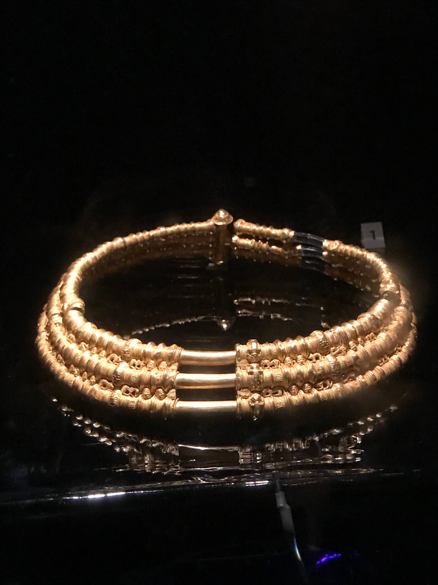 image showing Viking Research: Gold Torc, Historical Museum, Stockholm
